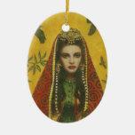 Ornamento decorativo de la bruja ornamento para reyes magos