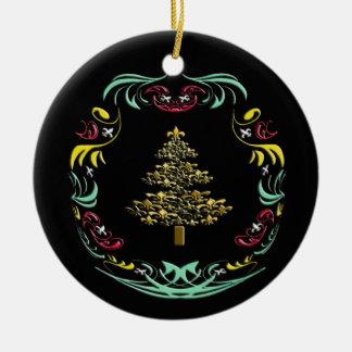 Ornamento decorativo del árbol de navidad de la fl ornamento de reyes magos