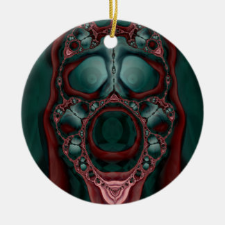 Ornamento del abucheo adorno redondo de cerámica
