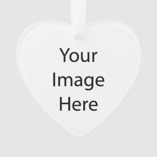 Ornamento del acrílico del corazón