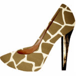 Ornamento del acrílico del zapato 3D de la moda de Escultura Fotografica