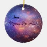 Ornamento del aeroplano del espacio ornamente de reyes