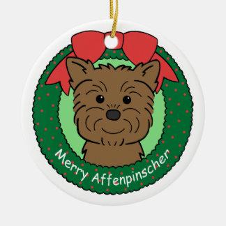 Ornamento del Affenpinscher Adornos De Navidad