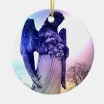 Ornamento del ángel adornos de navidad