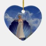 Ornamento del ángel del agua ornamento para reyes magos