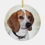 Ornamento del ángel del beagle ornamentos de reyes magos
