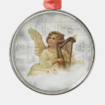 Ornamento del ángel del navidad del vintage ornamento para arbol de navidad