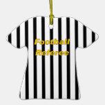 Ornamento del árbitro del fútbol ornamente de reyes