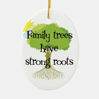 Ornamento del árbol de familia de la genealogía adornos de navidad