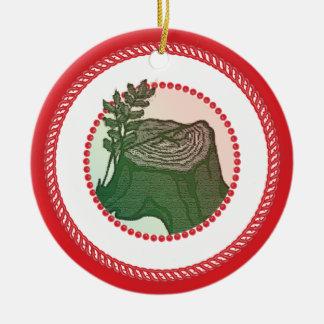 Ornamento del árbol de Jesse del Caramelo-detrás Ornamento Para Reyes Magos