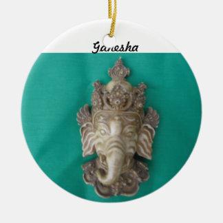 Ornamento del árbol de la abertura de Ganesha Ornamento Para Arbol De Navidad
