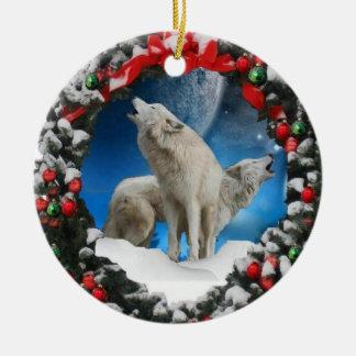 Ornamento del árbol de los cantantes del navidad adorno de navidad