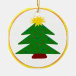 Ornamento del árbol de navidad adorno