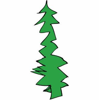 Ornamento del árbol de navidad adorno fotoescultura