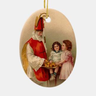 Ornamento del árbol de navidad de Nicholas del Adorno De Reyes