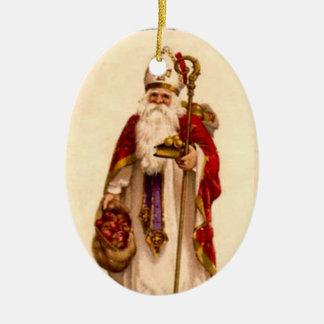 Ornamento del árbol de navidad de Nicholas del Ornamento De Reyes Magos