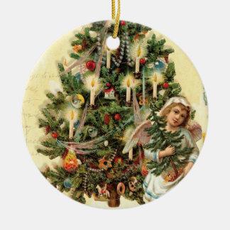 Ornamento del árbol de navidad del ángel del adornos de navidad