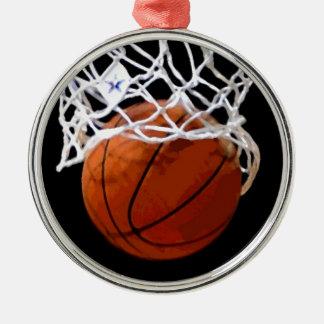 Ornamento del árbol de navidad del baloncesto adorno para reyes
