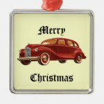 Ornamento del árbol de navidad del coche del vinta ornamento de navidad