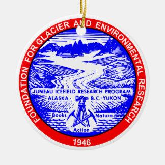 Ornamento del árbol de navidad del color de JIRP Adorno Navideño Redondo De Cerámica