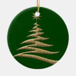 Ornamento del árbol de navidad del oro ornamento para reyes magos