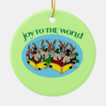 Ornamento del árbol de navidad del reno de los Car Adorno