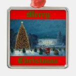 """Ornamento del """"árbol de navidad nacional"""" de Paul Ornamentos De Reyes Magos"""