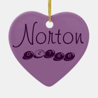 Ornamento del árbol de Norton 02766 Ornamento Para Arbol De Navidad