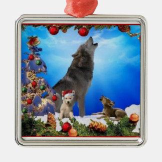 Ornamento del árbol del día de fiesta de los canta ornamentos para reyes magos
