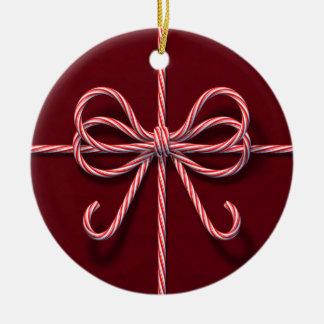 Ornamento del arco del bastón de caramelo ornatos