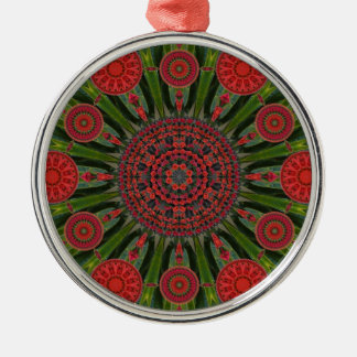 Ornamento del arsenal de la mandala del navidad ornato
