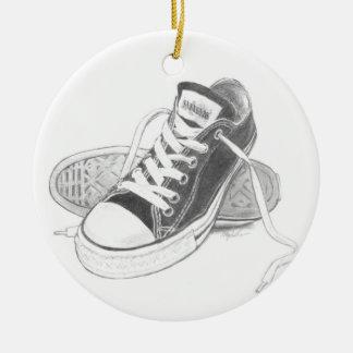 Ornamento del arte de las zapatillas de deporte ornamentos de reyes magos