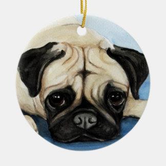 Ornamento del arte del perro del barro amasado ornamento para reyes magos