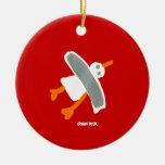 Ornamento del arte: Gaviota el tintóreo de Juan Ornamento De Navidad