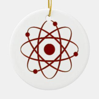Ornamento del átomo (005a) ornamento de navidad