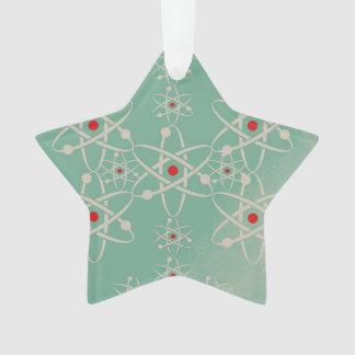 Ornamento del átomo de la estrella