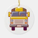 ornamento del autobús escolar ornamento para reyes magos