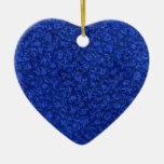 Ornamento del azul del vintage ornamento de navidad