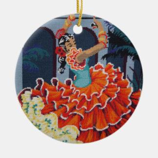 Ornamento del bailarín del flamenco ornamentos de reyes