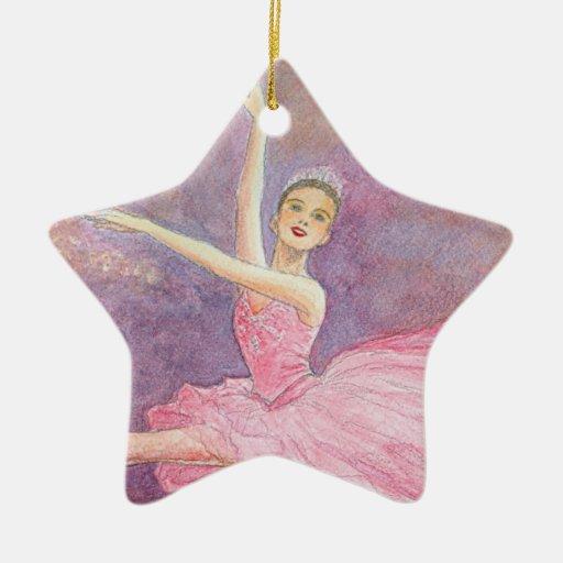Ornamento del ballet - hada del ciruelo del azúcar ornamento de navidad
