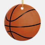 Ornamento del baloncesto ornamento para arbol de navidad