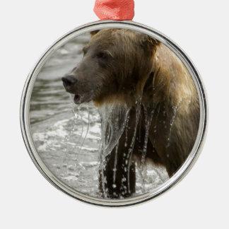 Ornamento del baño del oso ornamento de reyes magos