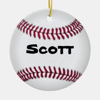 Ornamento del béisbol adorno para reyes