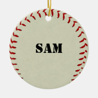 Ornamento del béisbol adornos