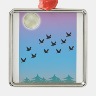 Ornamento del Birds of a Feather Adorno De Reyes