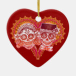 Ornamento del boda del Los Novios Adorno