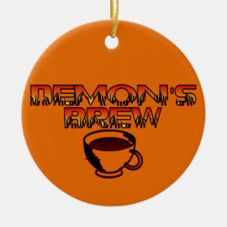 Ornamento del Brew del demonio Ornamentos Para Reyes Magos