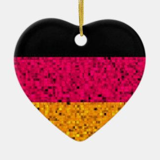 Ornamento del brillo de la bandera de Alemania Ornato