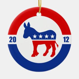 Ornamento del burro de Demócrata Ornamentos Para Reyes Magos