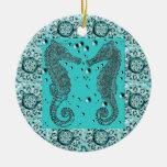 Ornamento del caballo de mar de GothicChicz Adorno De Navidad